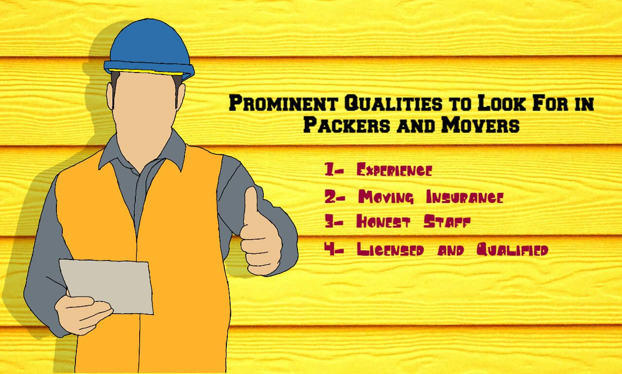 Prominent Qualities to Look For in Packers and Movers Noida